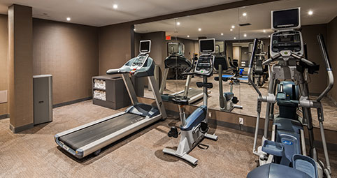 keep your healthy lifestyle throughout your stay at our complete fitness center