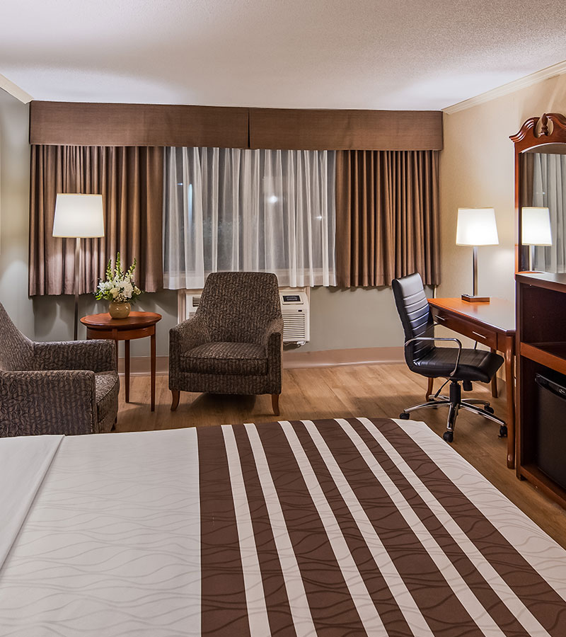 downtown Ottawa's best value with accommodations that are comfortable & tasteful